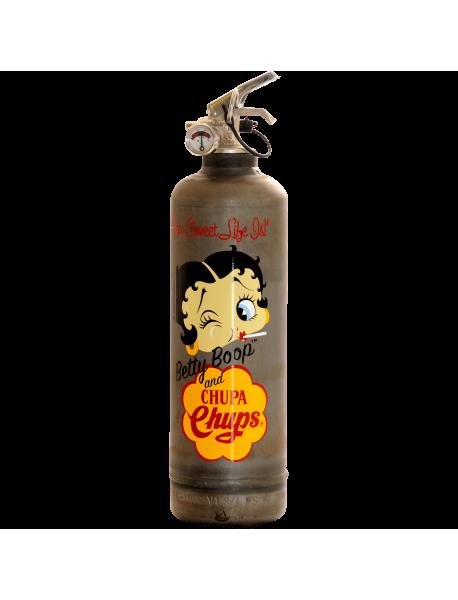 Extincteur vintage Betty Boop Chupa