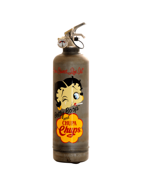 Fire extinguisher vintage Betty Book Chupa