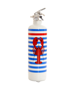 Fire extinguisher design Parischeri Homard white