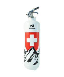 Fire extinguisher design Petit Suisse white