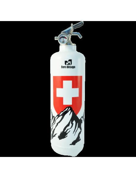 Estintore design Petit Suisse bianco