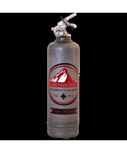 Fire extinguisher design Ski Forever vintage