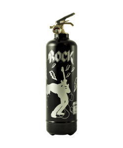 Fire extinguisher design Rock N Roll black