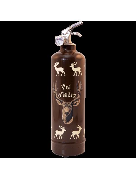 Fire extinguisher design PC Troupeau de cerfs brown