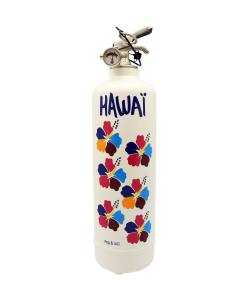 Extincteur design POP LOLLI Hawaii blanc