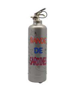 Fire extinguisher design Bande de sardines