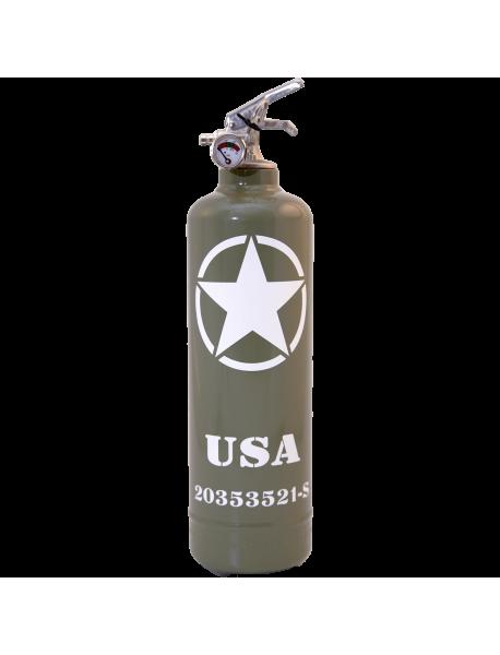 Fire extinguisher design Willys USA khaki