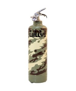 Fire extinguisher design Willys Military khaki