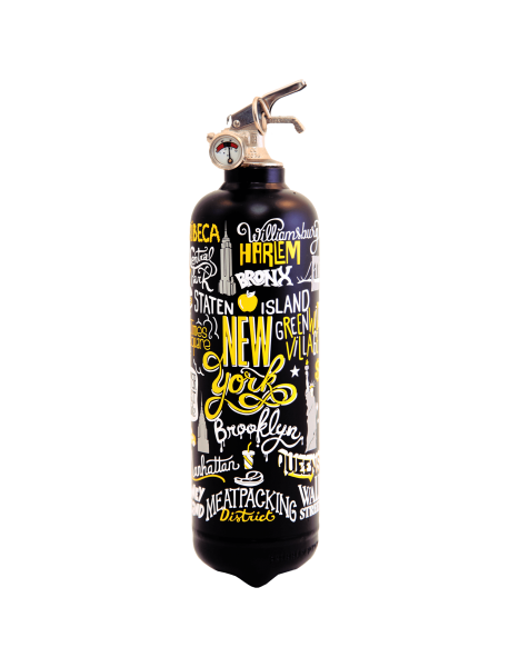 Fire extinguisher design AKLH NY N1 black