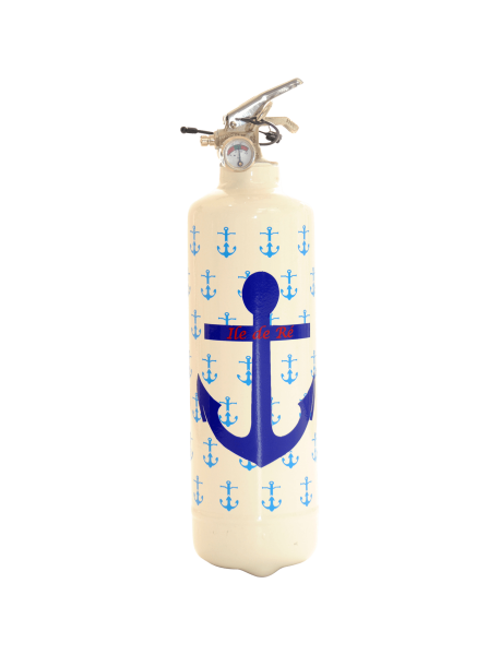 Fire extinguisher design PC Ancre Marine white