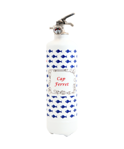 Fire extinguisher design Petit Poisson white