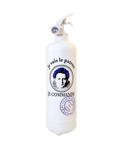Fire extinguisher design DST Patron white