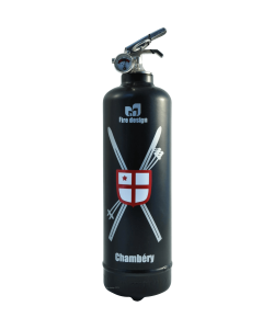 Fire extinguisher design Chambery black