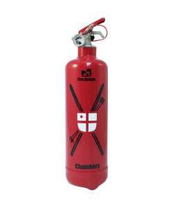 Fire extinguisher design Chambery red