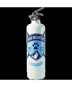 estintore design bear mountain bianco