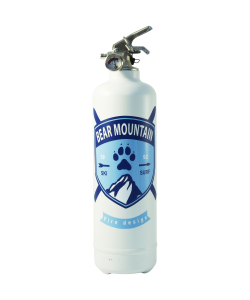 fire extinguisher design bear mountain white