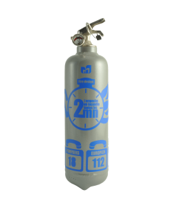 fire extinguisher design chrono grey