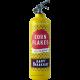 extincteur design corn flakes jaune