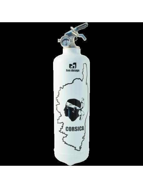fire extinguisher design corsica white