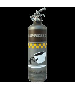 extincteur design espresso vintage