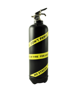 Fire extinguisher design Expert black yellow