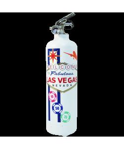 extincteur design fabulous Vegas blanc