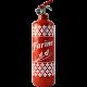 extincteur design Farine rouge