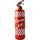 fire extinguisher design farine red
