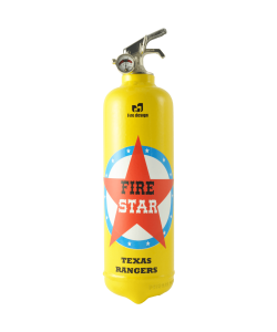 fire extinguisher design fire star yellow