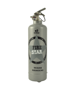 fire extinguisher design fire star grey