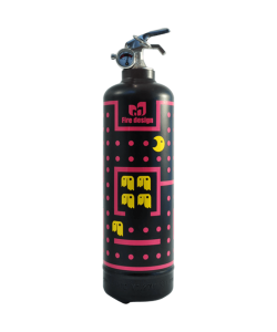 Fire extinguisher design Fireman black