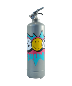 Fire extinguisher design Smiley Années 80