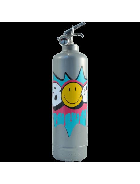 Fire extinguisher design Smiley Années 80
