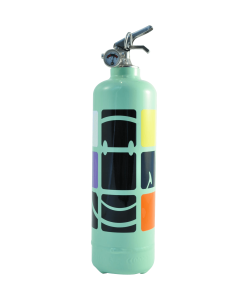 Fire extinguisher design Smiley Boxe