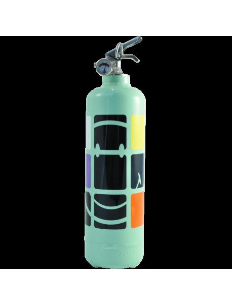 Fire extinguisher design Smiley Boxe
