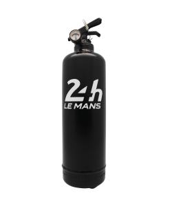 Fire extinguisher design 24H le Mans Classic black