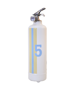Fire extinguisher design E2R Montecarlo white