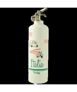 Estintore design Italia duo bianco