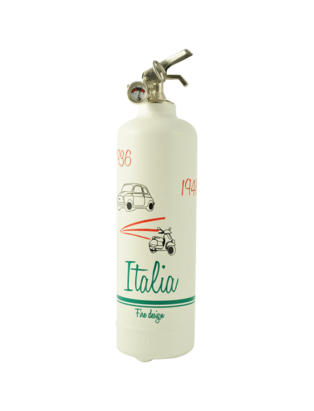 Fire extinguisher design Italia duo white