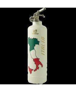 Extincteur déco Italia blanc