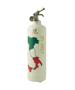 Fire extinguisher design Italia white