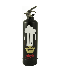 Fire extinguisher design AKLH Cook black
