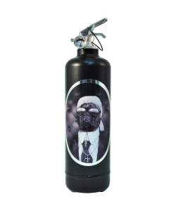 Fire extinguisher design Pets Rock Fashion Class black