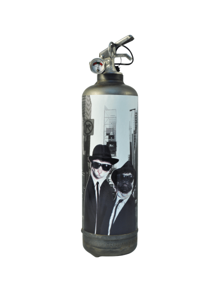 Fire extinguisher design Pets Rock Brother City vintage