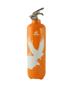 Fire extinguisher design Birdflight orange
