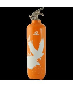 Fire extinguisher design Birdflight orange