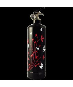 Extincteur décoratif Butterfly noir