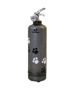 Fire extinguisher design Cat vintage