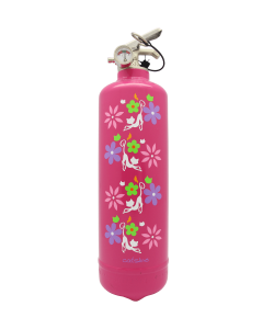Fire extinguisher design Catsline fleurs