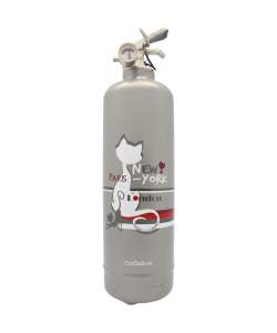 Fire extinguisher design Catsline Paris NY